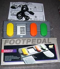 Atari ST Amiga Amstrad Spectrum BBC Electron  Foot Pedal SV 129 NEW BOXED MINT