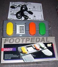 Atari ST Amiga Amstrad Spectrum BBC Electron  Foot Pedal SV 129 NEW BOXED MINT