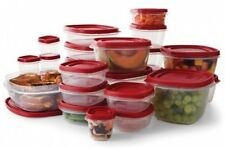 Rubbermaid Easy Find Lids Food Storage Set 50 piece Plastic Containers Free Ship