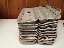 12+ Used Egg Cartons Hobby/Arts/Crafts/Storage/Jewelry/Planting Clean