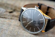 Men's SS NOMOS Glashütte ZURICH Braungold Sunray AUTOMATIC Subseconds Dial Watch