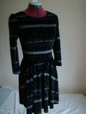 TOPSHOP BEAUTIFUL AZTEC - DRESS SIZE 8 -10 UK / 36