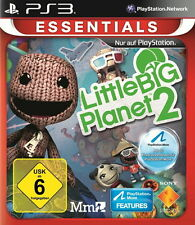 Play Station 3 gioco ps3 Little Big Planet 2 [Essentials] con istruzioni