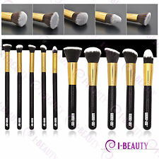 10 pcs Professional Makeup Brush Set  Cosmetic Brushes Foundation  Eyeshadow