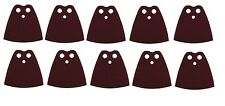 LEGO LOT OF 10 MINIFIGURE BROWN CAPES CLOTH AUTHENIC IN SEALED CARTON STAR WARS