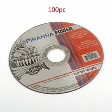 "( 100pcs )  Cut-Off Wheel 4-1/2"" X 1/32"" X 7/8"" ( Pirahna Power )"