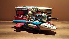 Vintage Interplanetary Space Fighter Super Jet TN Japan RARE!! W/Box