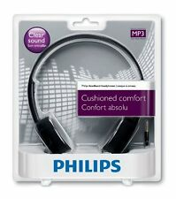 Philips SHL1000/10 Lightweight On-Ear Headphone (Black)+3 Months Seller Warranty