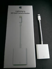 Lightning to SD Card Camera Reader Adapter for iPad air/pro/mini iPhone 5/6/7