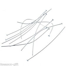 "300PCs Silver Plated Head Pins 6cm(2 3/8"")x0.6mm(20 Gauge)"
