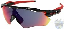 Oakley Radar EV Path Sunglasses OO9208-21 Polished Black | Positive Red Iridium