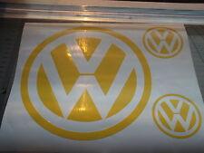 VW Volkswagen logo  large sticker   transporter X3 PIECE
