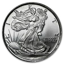 1/10 oz Walking Liberty Lady Silber Eagle Design Half Dollar 999 Silver AG