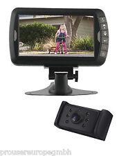 """PRO-USER DRC7010 12V/24V Digitale Funk-Rückfahrkamera mit 7,0"""" LCD Bildschirm"""