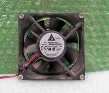 Delta Electronics 2-pin Case Fan AFB0812HH  80x80x25mm 12V DC, 0.3A