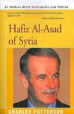 Hafiz Al-Asad of Syria by Charles Patterson (2000, Paperback)