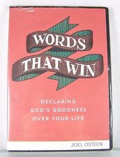 NEW!~JOEL OSTEEN CHRISTIAN MINISTRIES~WORDS THAT WIN~3 MESSAGE CD/DVD SET/SERIES