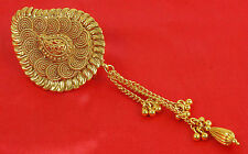 HP-72 Bollywood Hair & Head Jewelry Gold Tone Bun Pin Indian Hair Accessories