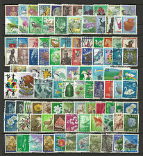 JAPAN STAMP COLLECTION & PACKET of 100 DIFFERENT Mostly Used NICE SELECTION