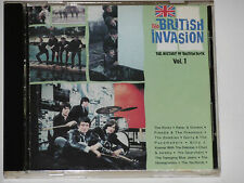 The British invasione-The History of British Rock, vol.1 (the Kinks...) CD