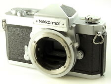 Nikon Nikkormat FT N 35mm Film SLR Camera Body. Tested and Working UK