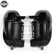 AdvanBlack Lower Vented Fairing Vivid Black For Harley FLHR FLHXS FLTRX 86-13