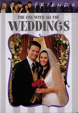 Friends (TV Series) The One With All The Weddings. DVD