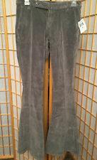 Lucky Brand Jeans Flair Corduroy Gray Womens Casual  Pants Size 2 / 26