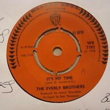 "The Everly Brothers(7"" Vinyl)It's My Time / Empty Boxes-Warner-WB 7192-Ex/Ex"