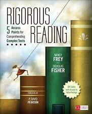 Rigorous Reading: 5 Access Points for Comprehending Complex Texts (Corwin Liter