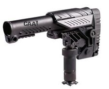 SRS-S CAA Tactical Black Multi Position Sniper Stock Made of Aluminium & Polymer