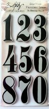 TIM HOLTZ Stampers Anonymous NUMERIC Cling Stamps NUMBERS