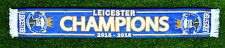 LEICESTER CITY CHAMPIONS SCARF 2015 2016