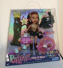 Bratz Funk 'N' Glow Collection YASMIN w/Clothes & Accessories 2002 LE NEW in Box