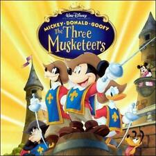 Mickey, Donald and Goofy: The Three Musketeers New CD
