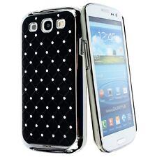 kwmobile Strass Schutz Hülle für Samsung Galaxy S3 S3 Neo Schwarz Silber Case