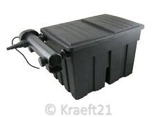 Teichfilter 18000 L Filter inklusive 36 Watt UVC Gerät, Biokugeln + Schwamm