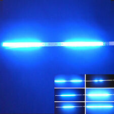 2x Blue 32-SMD Mini LED Scanner Knight Rider Lighting Strip For Car Interior