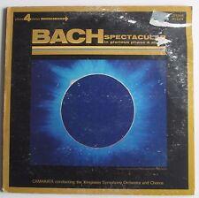 Bach Spectacular CAMARATA Conducting vinyl LP1972 London Records,Good condition