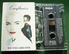 Eurythmics We Too are One inc Don't Ask Me Why & Angel + Cassette Tape - TESTED