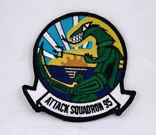 POST WWII USN - ATTACK SQUADRON 95 PATCH 4x4 inches