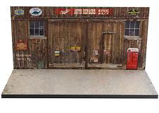 Diorama présentoir garage Chuck's auto repairs- 1/43ème - #MR43U008