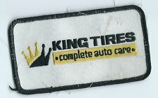 King Tires complete auto care dealer employee patch 2-1/2 X 4-1/2 Muskogee OK