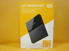 **BRAND NEW** WD My Passport Portable External Hard Drive 4TB