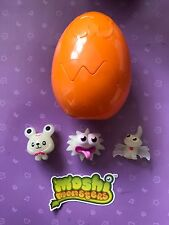 Moshi monster 3 ultra rare halloween moshlings * glow in the dark * & orange oeuf