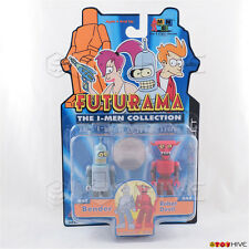 Futurama The I-Men Collection Bender & Robot Devil 2 figure coin pack Toynami