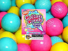 GUMBALLS COTTON CANDY BUBBLE GUM 25mm or 1 inch (57 count), 1LB