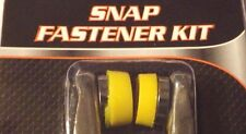 Snap Fastener Kit with 108 Snaps_Shirts,Jeans,Bags,Jackets,Crafts_Add A Snap!