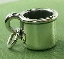 James Avery RETIRED Coffee Camping Tin cup / mug . HTF  UNCUT Near Mint
