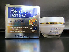 Beauty renew exclusive face mositurizer w golden dust royal silk 45+ New in box